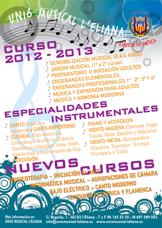 unio musical curso-2012-13 noticia