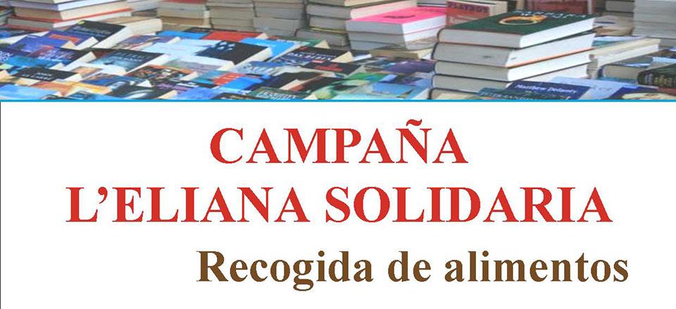 Alimentos a cambio de libros en la campa a solidaria de la - Biblioteca l eliana ...
