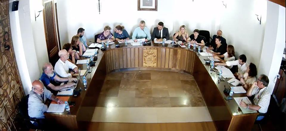 Pleno ordinario en el ayuntamiento de l 39 eliana del mes de - Biblioteca l eliana ...